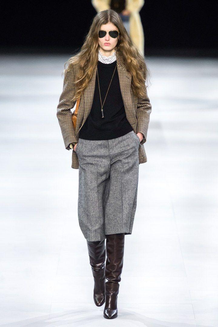 11 pièces ultra désirables du défilé Celine par Hedi Slimane quon a envie de porter tout de suite