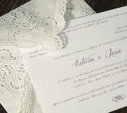 Convite de Casamento Tudo que sonhei