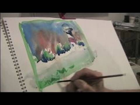Watercolor Tips For Beginners - Watercolour Brushes and Paint Strength - YouTube