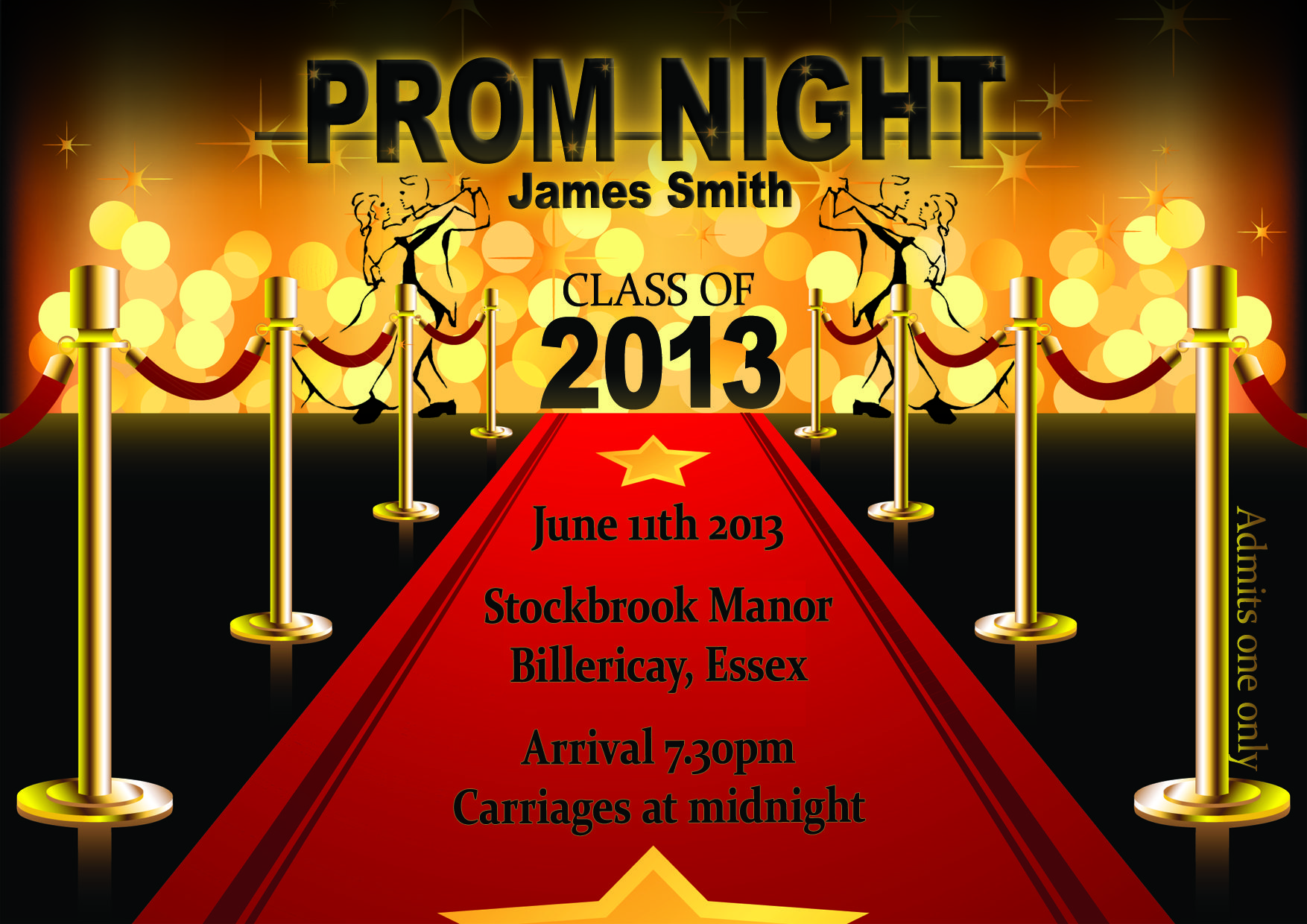 prom tickets design – Prom Tickets Design