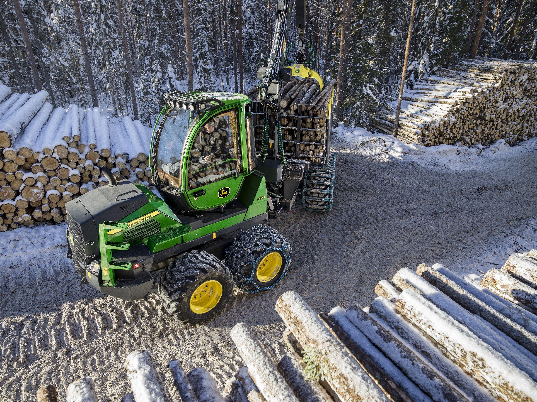 John Deere 910G   Forestry machines   Logging equipment