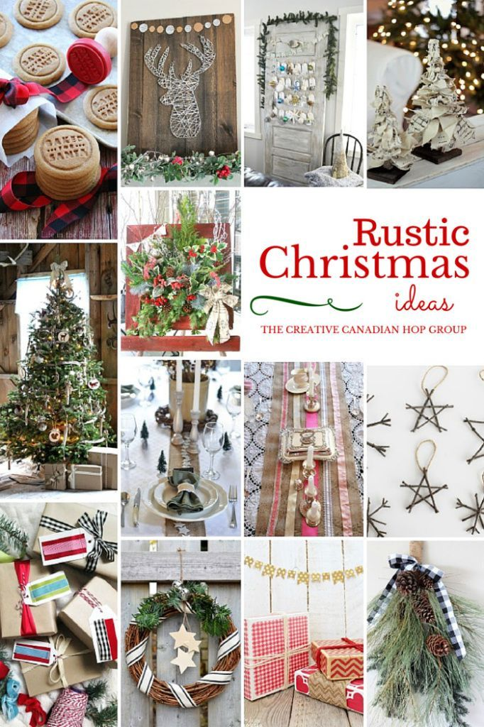 Ordinary Rustic Christmas Craft Ideas Part - 1: Rustic Christmas Ideas - A Collection Of FABULOUS Rustic Christmas Decor  Ideas! You MUST Check