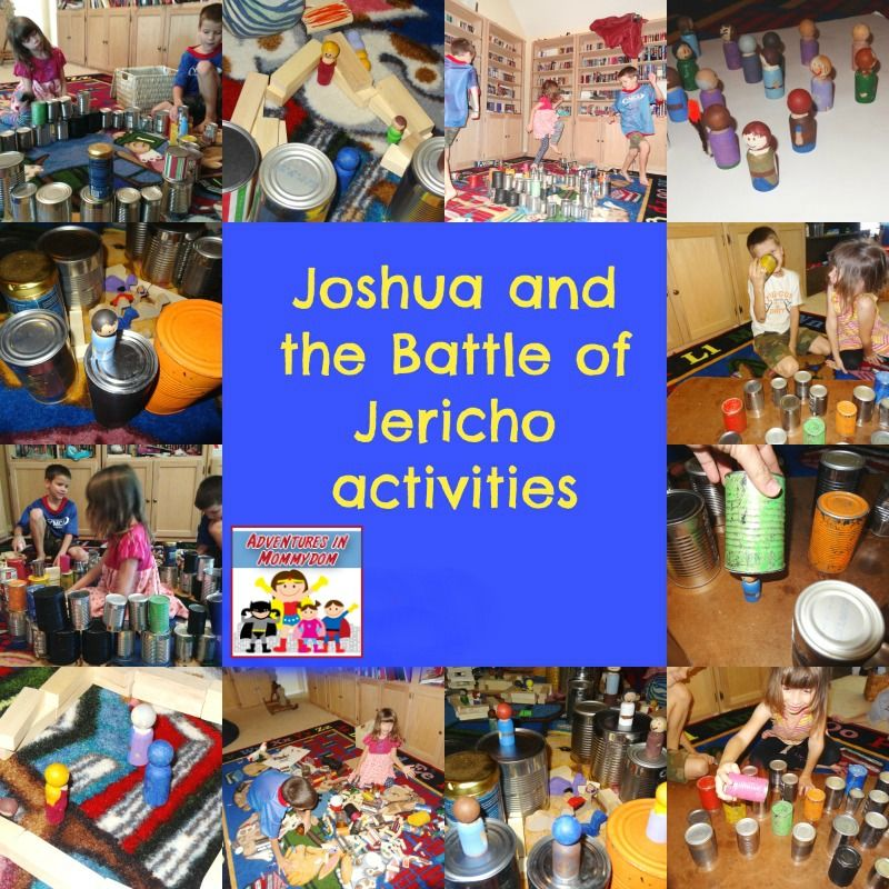 Joshua And The Battle Of Jericho Activities Bible Crafts For Kids Preschool