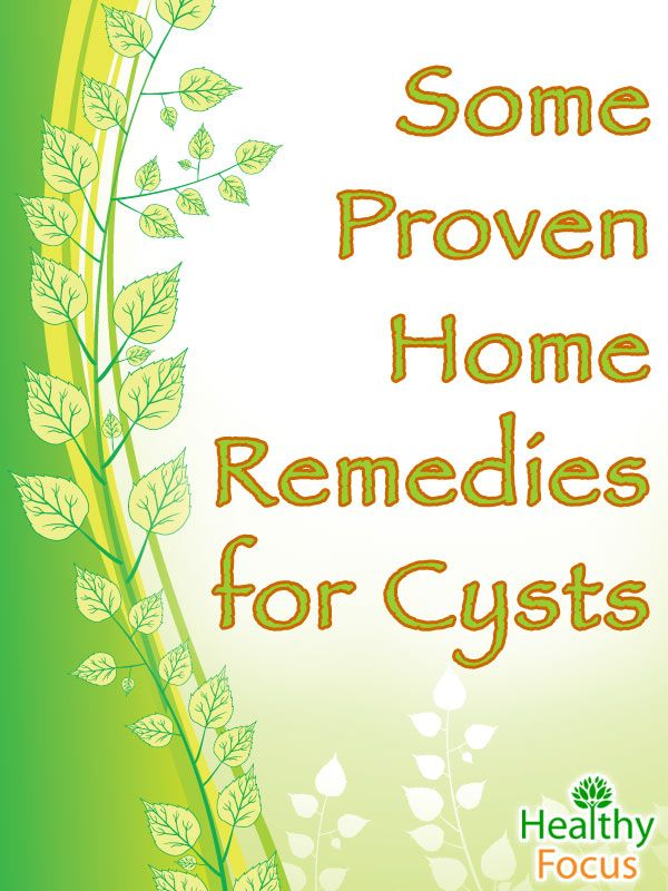 13 Proven Natural Home Remedies For Cysts Updated 2018 Holistic
