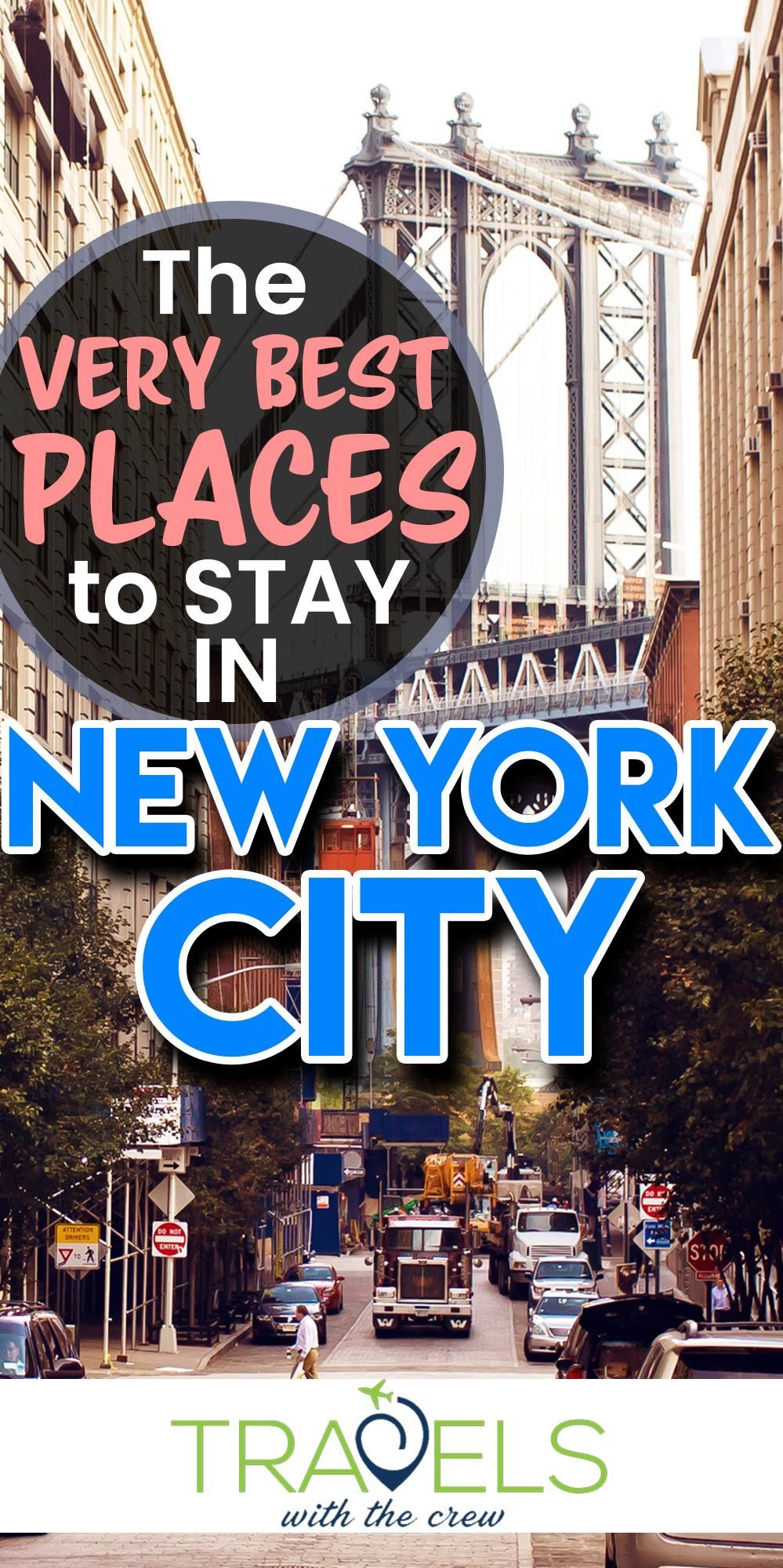The very best places to stay in New York City #travelnorthamerica