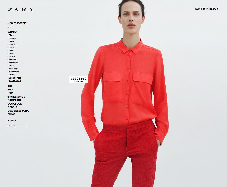8698b9def5 Woman - ZARA Japan | WebDesign | Fashion, Web design, Love design