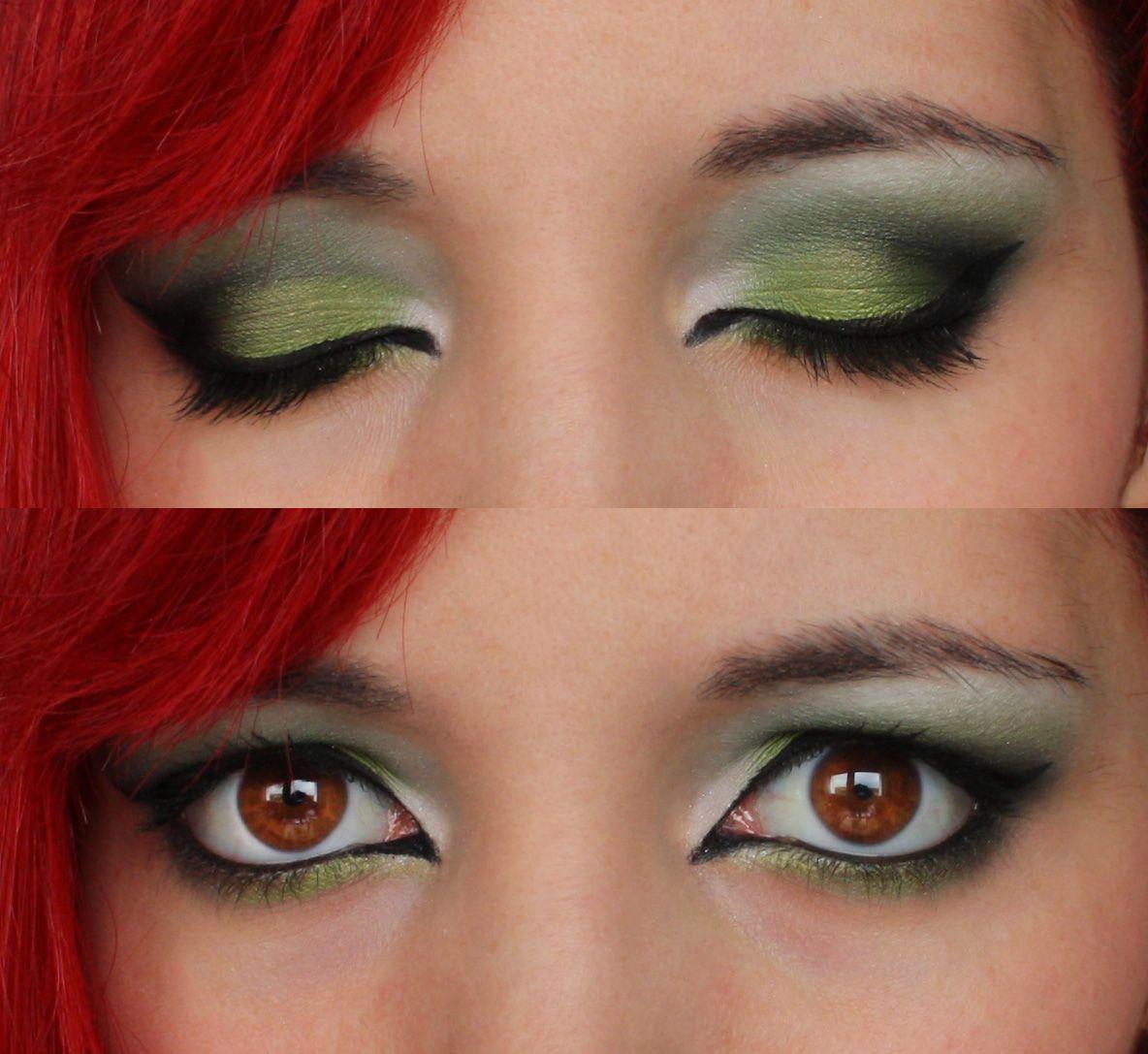 Poison Ivy Makeup Tutorial Makeup Geek Poison Ivy Makeup Poison Ivy Costumes Makeup Geek