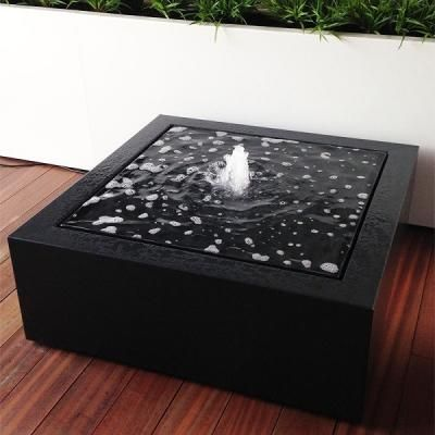 Aluminium Square Water Table Water Feature Water Features In The