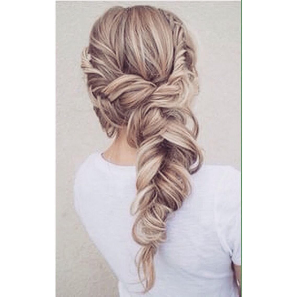 28 Beautiful Bridal Braids | Hair style, Hair make up and Make up