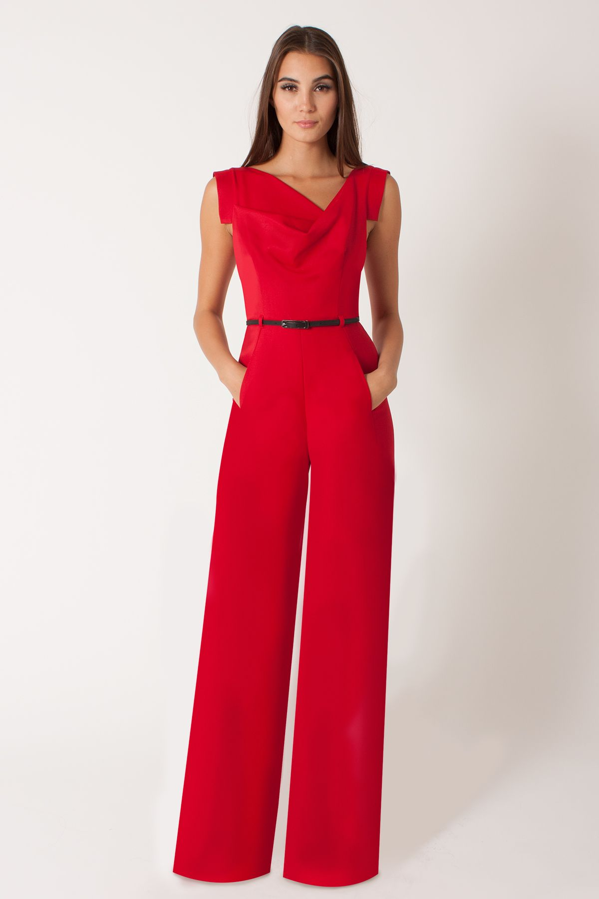 fb60f1716fde6 Jackie Jumpsuit red perfect for the Kentucky derby - Signature Styles -  Dresses