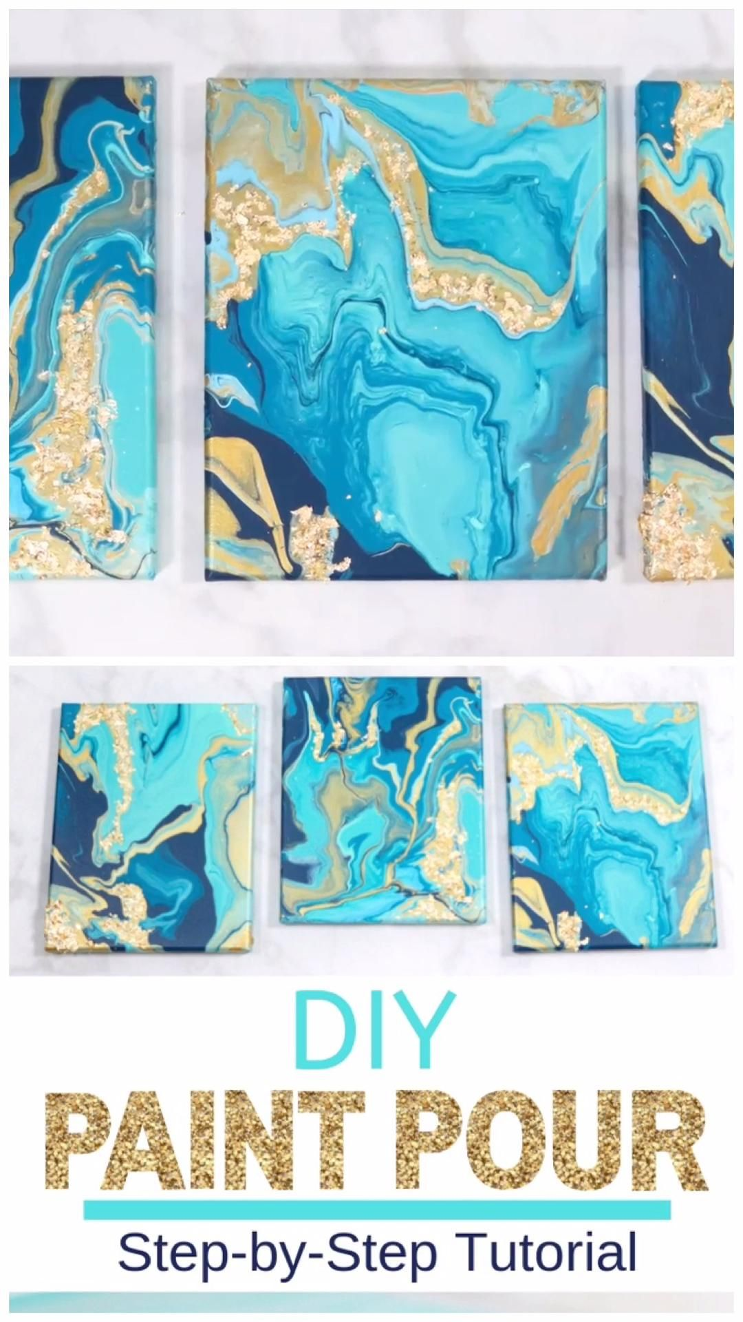 Photo of DIY Pour Painting with JOANN – Crafts   Sweet Red Poppy