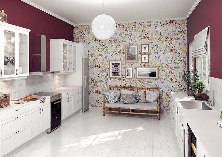 Farbgestaltung Für Weiße Küche U2013 32 Ideen Für Wandfarbe #farbgestaltung # Ideen #kuche #