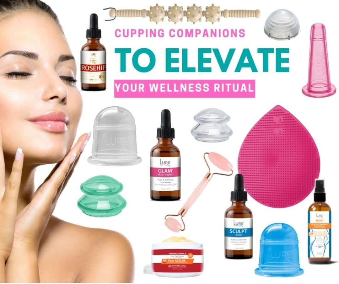 At Home Cupping Therapy: Did You Know…💡 That Lure Has An Entire Line Of Products