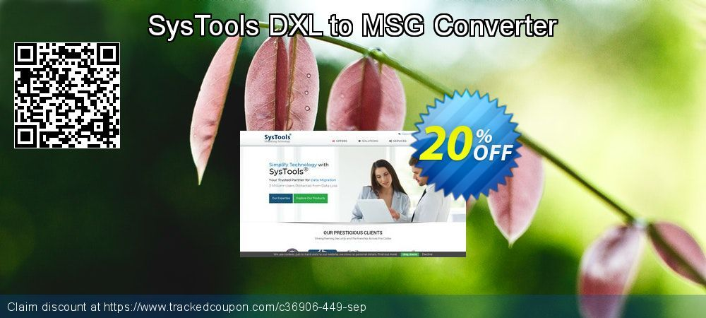 25 Off Systools Dxl To Msg Converter Promo Coupon Code On Natl