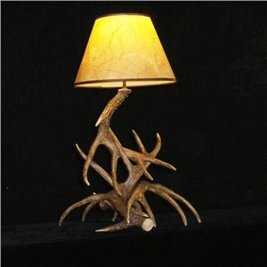 Artistique Ramure Lampe De Table Avec 1 Lampe Avec Images Lampes De Table Bois De Cerf Lumieres Chambre