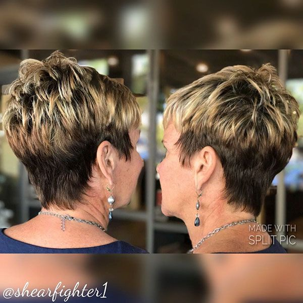 Very Short Haircuts For Older Women Older Women Hairstyles Haircut For Older Women Very Short Hair