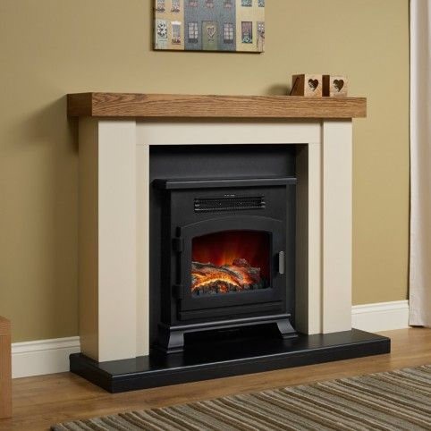 Bracken Electric Stove Fire Suite Electric Fireplace Suites
