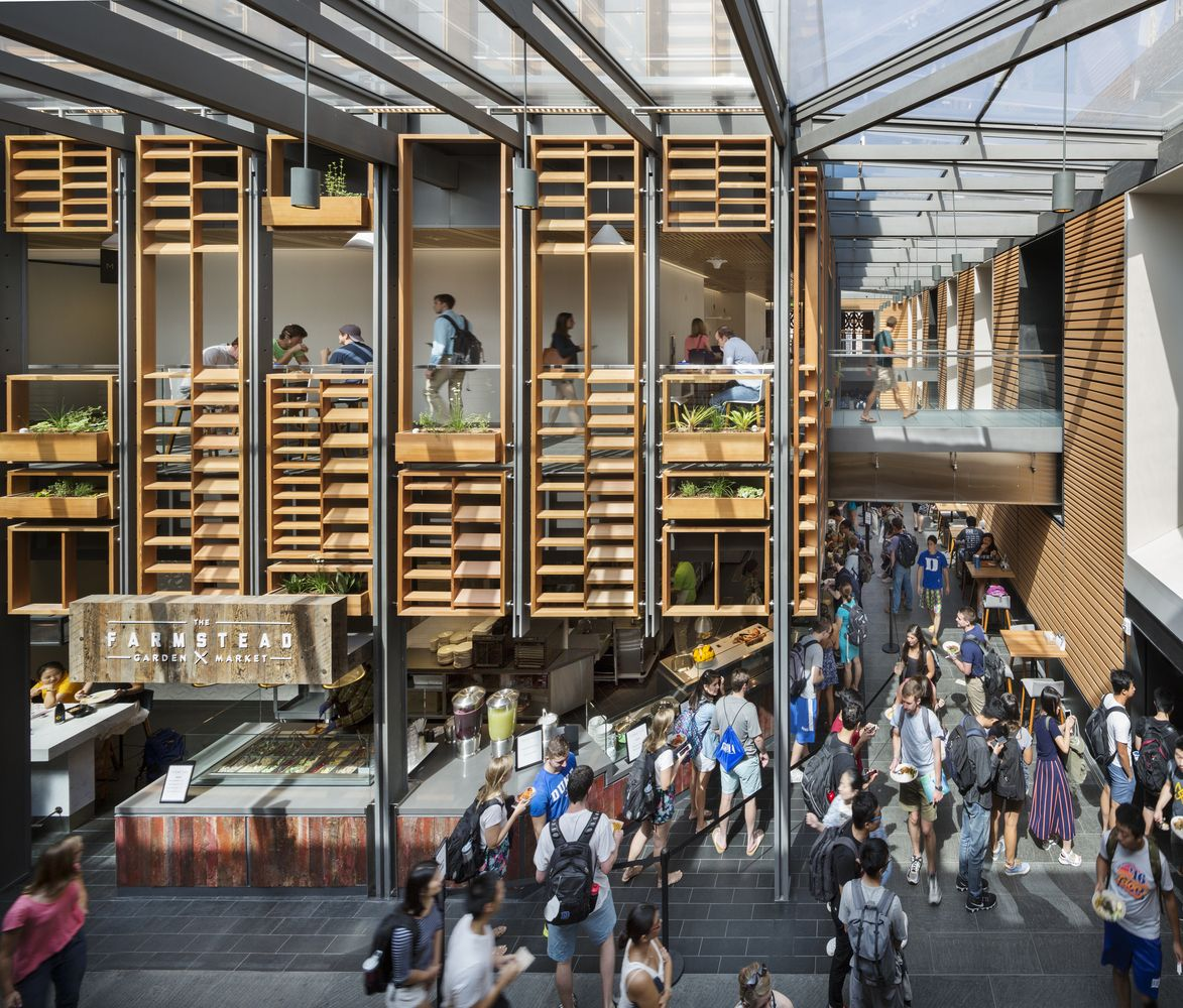 Gallery Of 100 Best Wood Architecture Projects In The Us 28 University Architecture West Campus Architecture Project