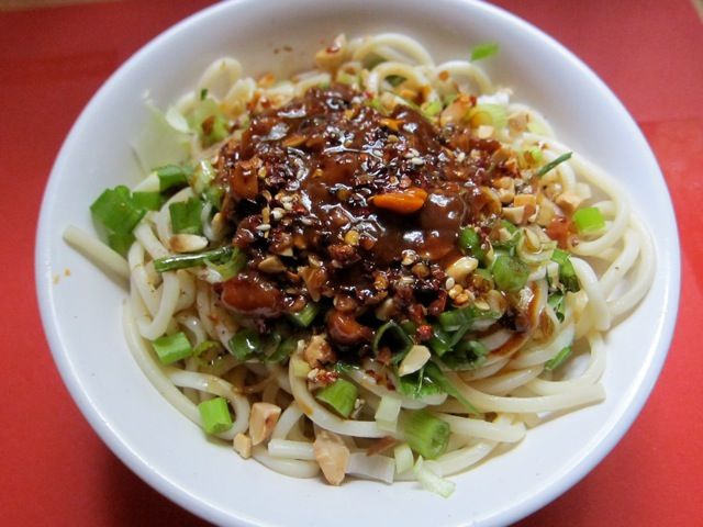 Traditional chinese recipes street food liang mian cold noodles traditional chinese recipes street food liang mian cold noodles forumfinder Image collections