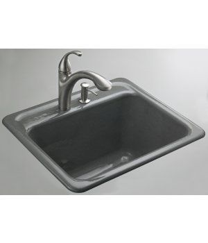 Kohler K 6656 2 Park Falls Tile In Metal Frame Utility Sink With