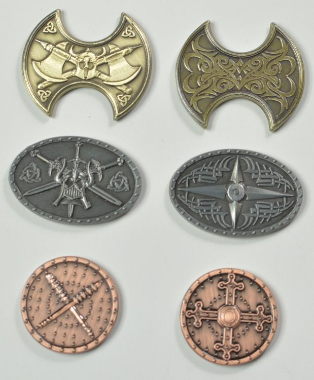 Gold Fantasy Coins for RPG and fun! | RPG Minis | Coins, Fantasy, Rpg