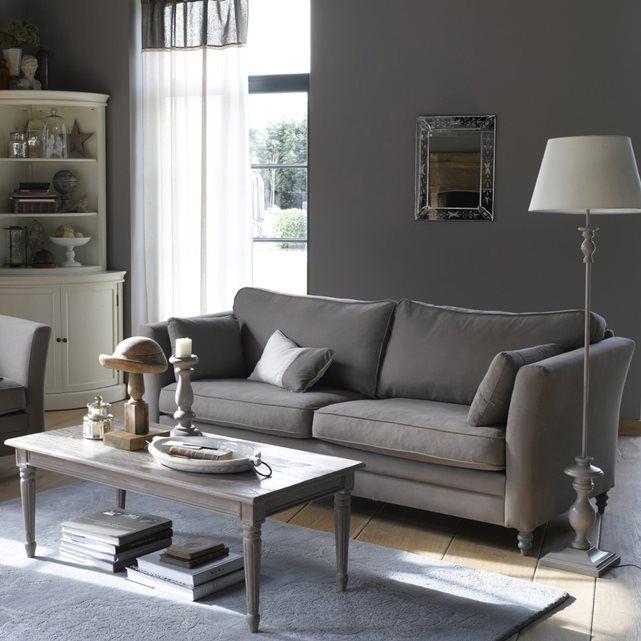 nottingham un canap fixe 2 ou 3 places 100 coton doux confortable bien profond r alis. Black Bedroom Furniture Sets. Home Design Ideas
