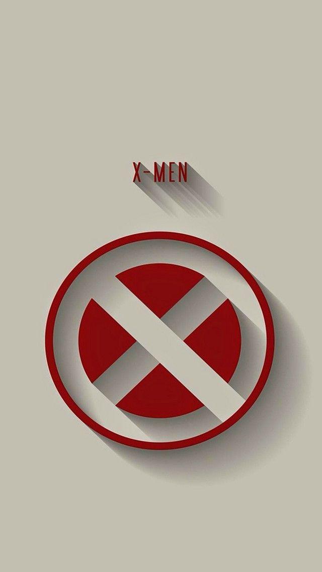X-Men logo - fan art - minimalist style   Marvel ...