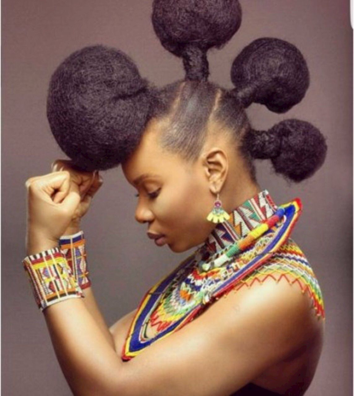 Yemi Alade People Natural Hair Styles African