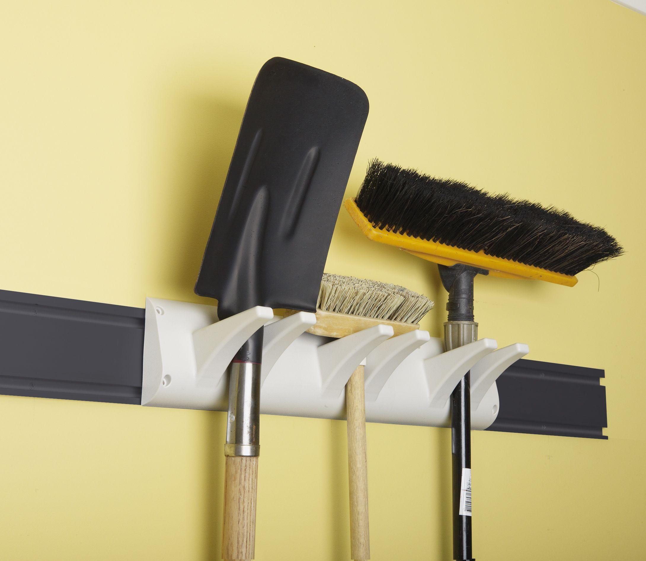 Storease Bracket Wall Access Dual Rail R00a Bunnings Warehouse Tool Hangers Broom Storage Hanger