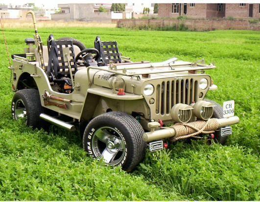Indian Custom Modified Jeep Jeep Willys Jeep Punjabi Jeep