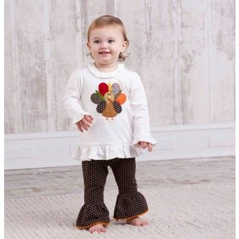 Mud Pie Little Girls Leopard Tunic and Tights Set