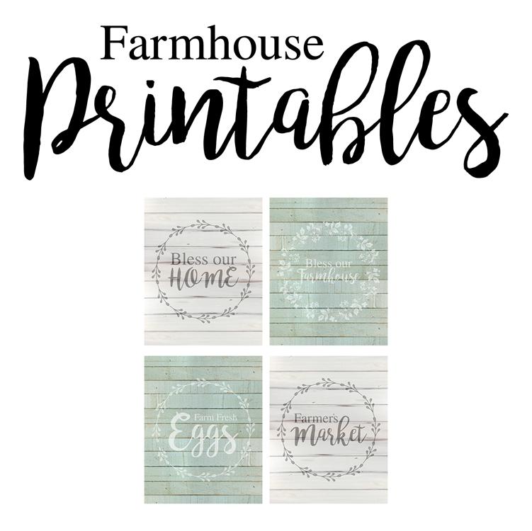 Free Farmhouse Style Printables Free printable art