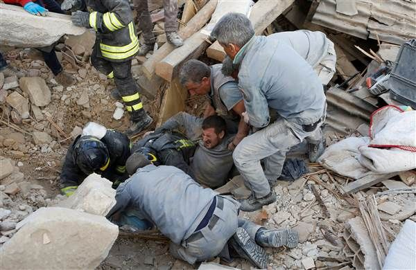 Italy Earthquake: Army Mobilized, Dozens Buried in Amatrice - NBC News