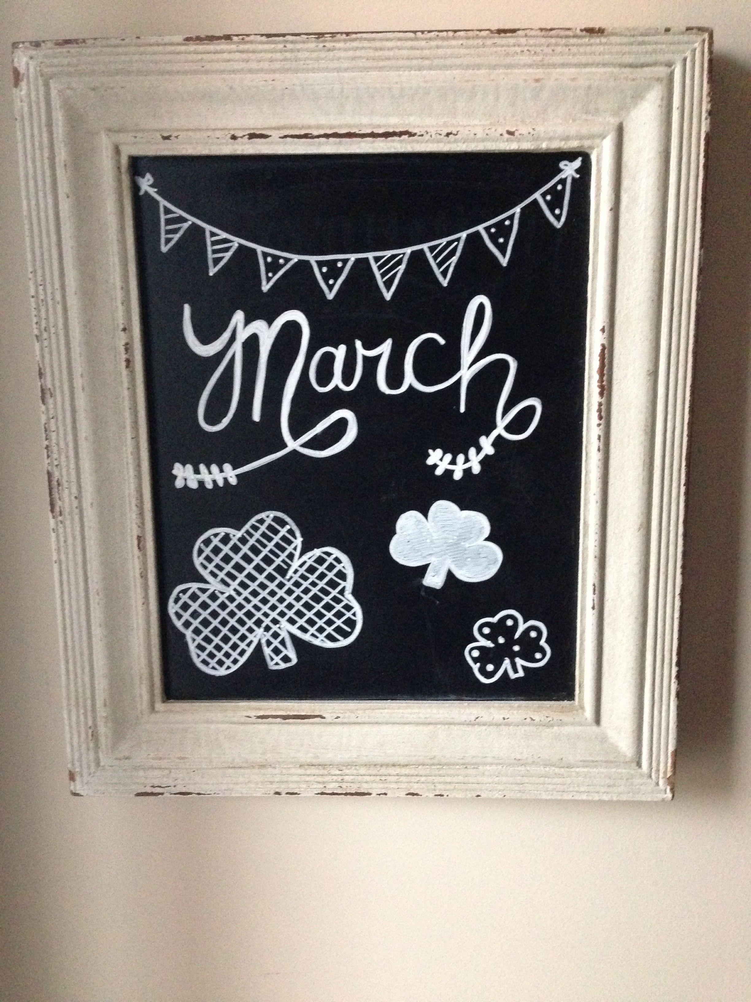 Chalk Art Ideas Blackboard