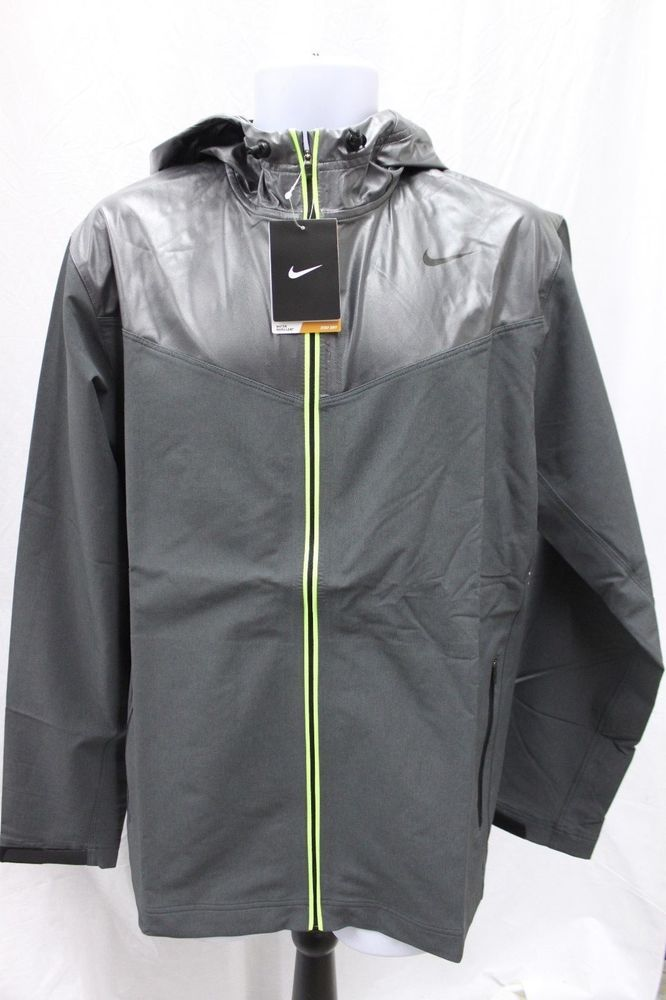 Nike Men s Sweatless Hooded Running Jacket Lightweight Coat MSRP  120 NEW    Sporting Goods, Fitness 8987274221