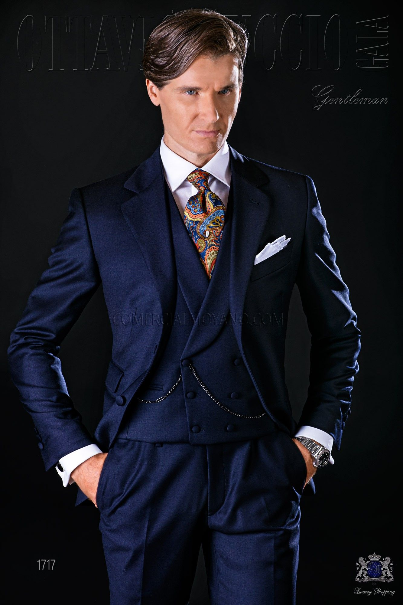 Tissu sergé de pur laine. Costume de mariage 1717 Collection Gentleman Ottavio  Nuccio Gala. 6010fea9432