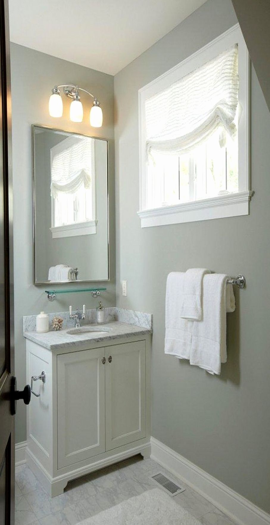 Best Paint Color For Half Bathroom