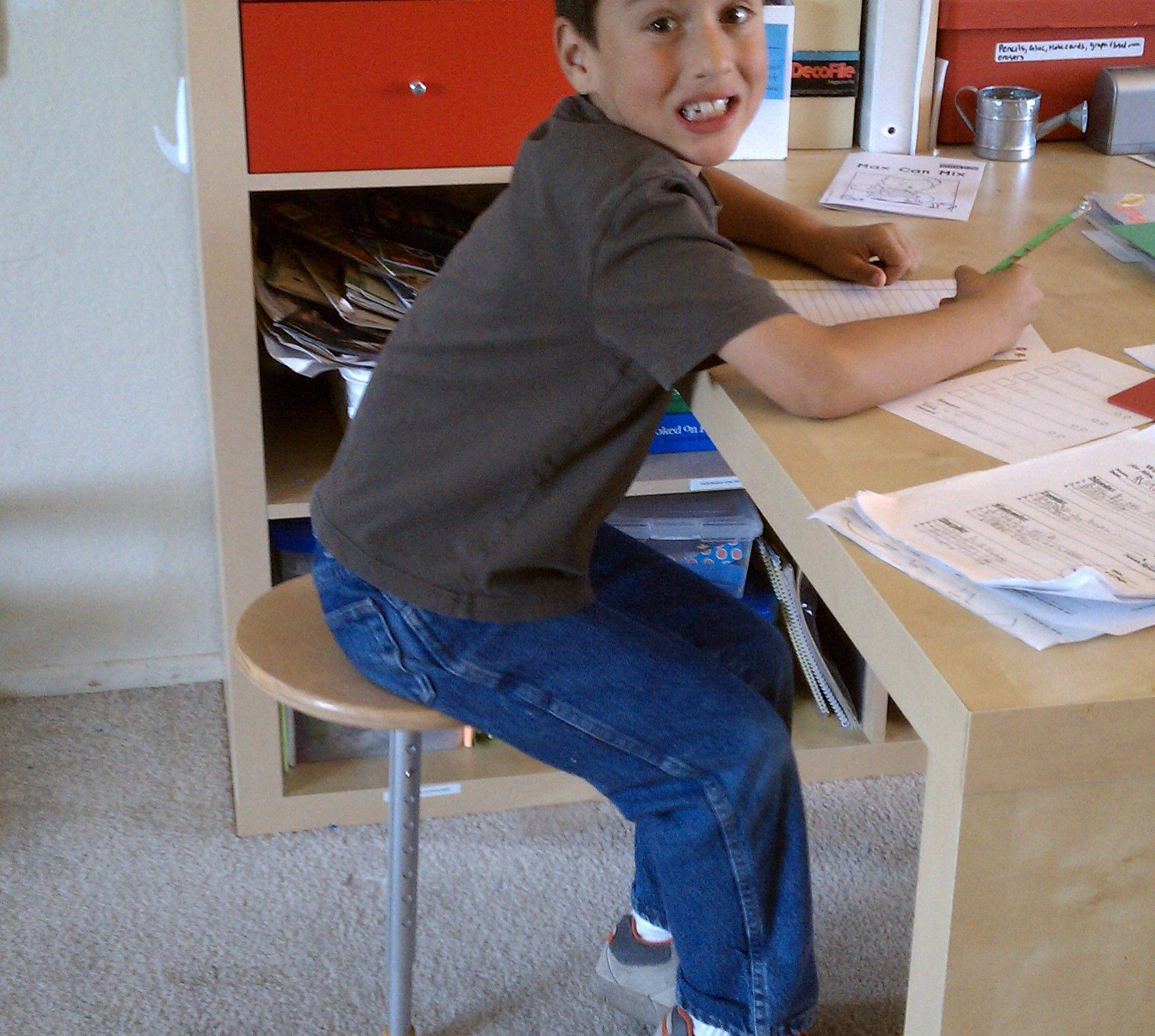 One Leg Therapy Stool Autism Ot Ideas Pinterest