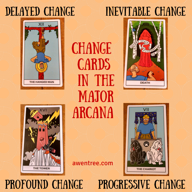 The four primary change cards in the Major Arcana. It is insightful to the process of transi… - Learning tarot cards, Tarot cards for beginners, Reading tarot cards - 웹