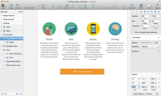 How to mock up a website with Sketch | Creative, A website and Web ...