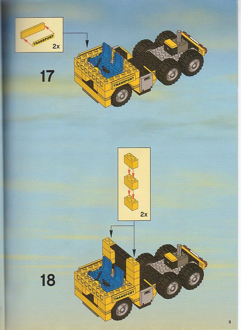 City Heavy Loader Lego 7900 Lego Design Lego Lego Instructions
