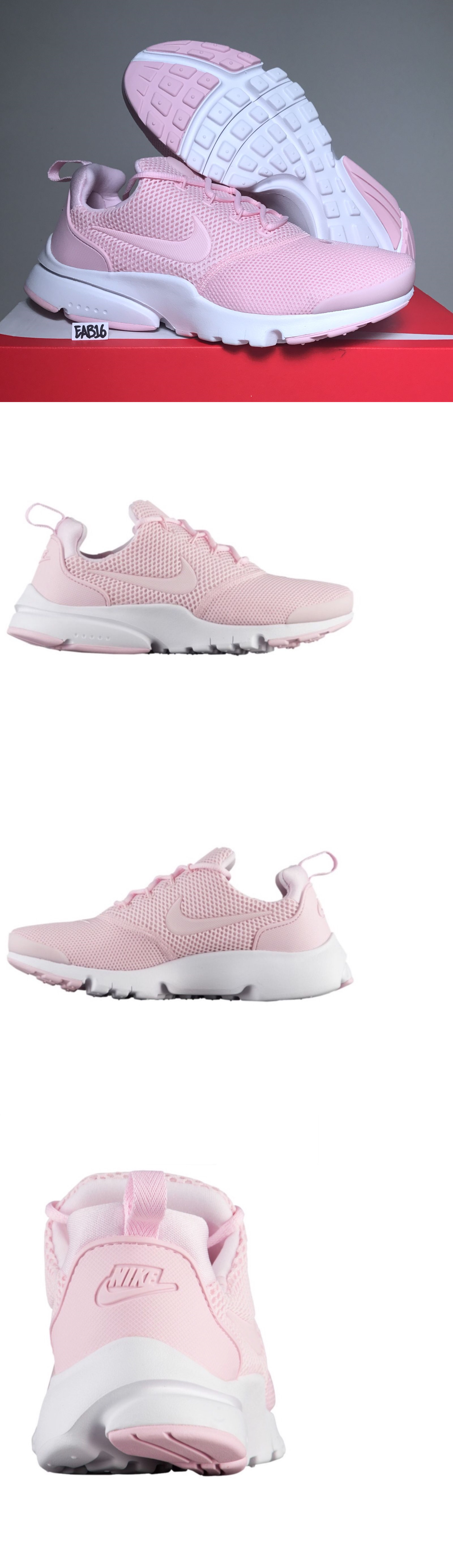 innovative design 71a18 e1ebd Girls Shoes 57974: Nike Presto Fly Racer Pink And White Boys ...