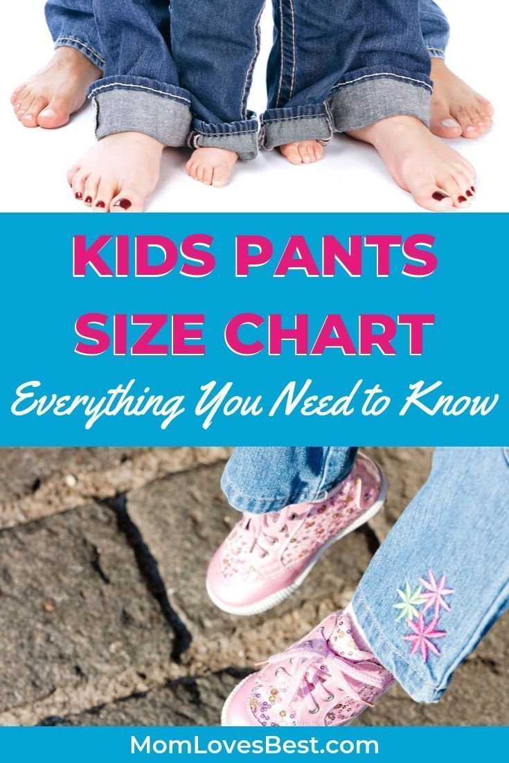 Kids Pants Size Chart Everything You Need To Know Struggling With Ill Fitting Pants For Your Child In 2020 Kids Pants Baby Clothes Sizes Baby Clothes Size Chart