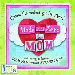 An adorable book kids can make for Mom with stickers and coupons. Fun idea for Valentine's day! Only 12 CHF from www.allforkids.ch.