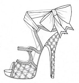 The Modellista Wrapping Things Up And Just Getting Started Shoe Design Sketches Art Drawings
