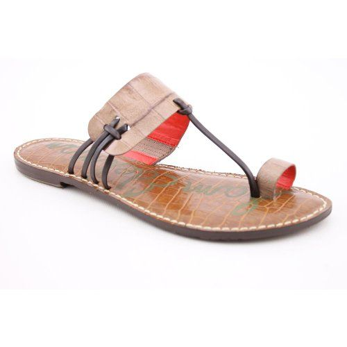 Sam Edelman Harbour Womens Open Toe Leather Thongs Shoes: Shoes