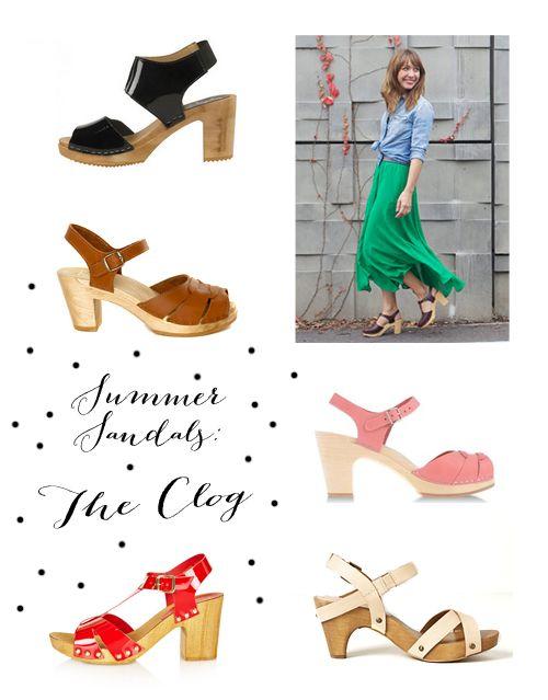 Clog sandals, Clogs