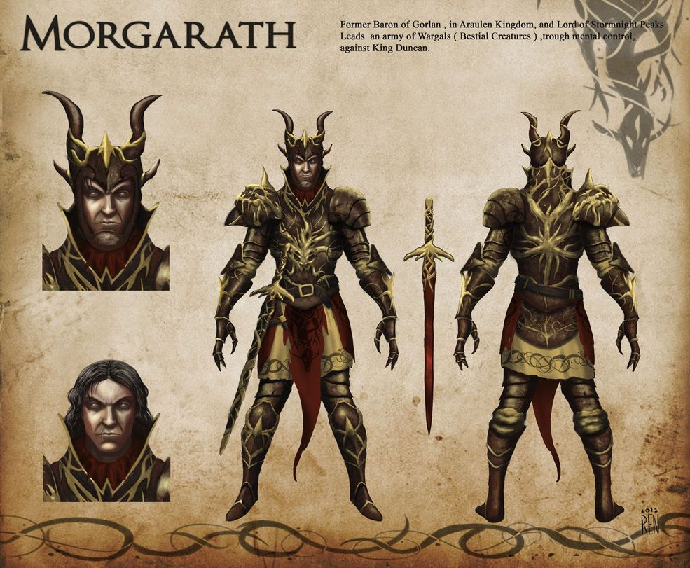 Morgarath Rangers Apprenticebook