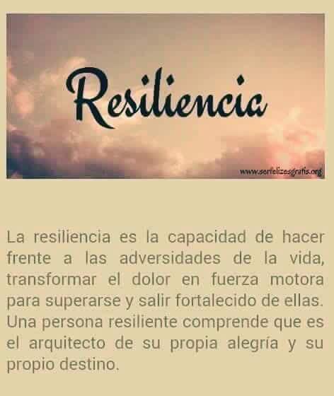 La Resiliencia Es La Capacidad De Diferentes Frases