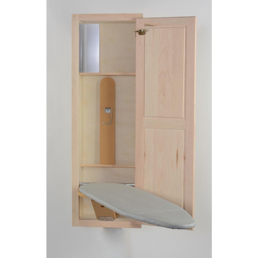 Hide Away Ironing Boards In Wall Ironing Series Maple Shaker Door